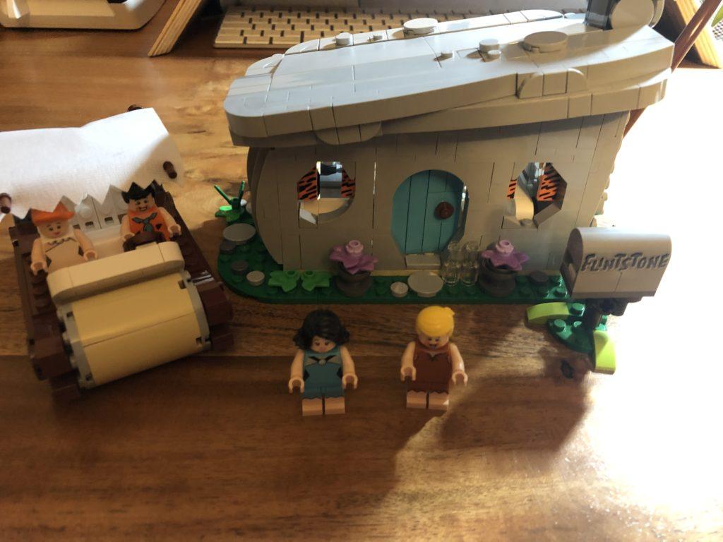 LEGO IDEAS 21316 - The Flintstones - Familie Feuerstein
