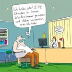 Warten auf den Doktor: Die skurrilsten und witzigsten Cartoons von BECK